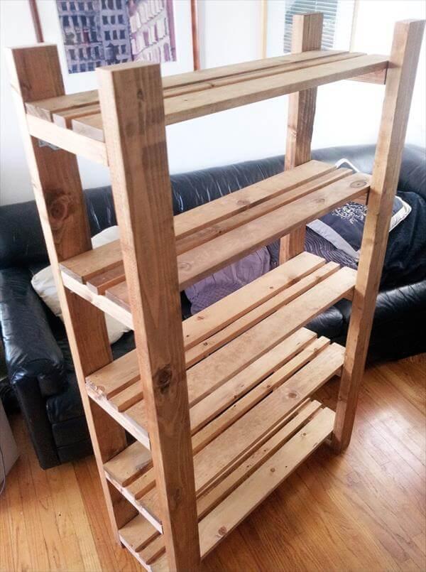 Excellent Out Of Pallets Pallet Bookshelf Bookcases Pallet Cd Wood Pallet