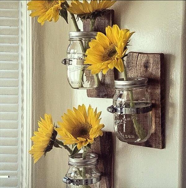 posts diy simple pallet mason jar chandelier diy pallet and mason jar ...