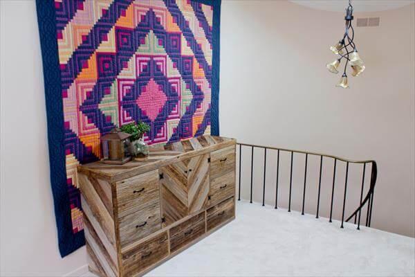 DIY Pallet Wood Dresser | 101 Pallets