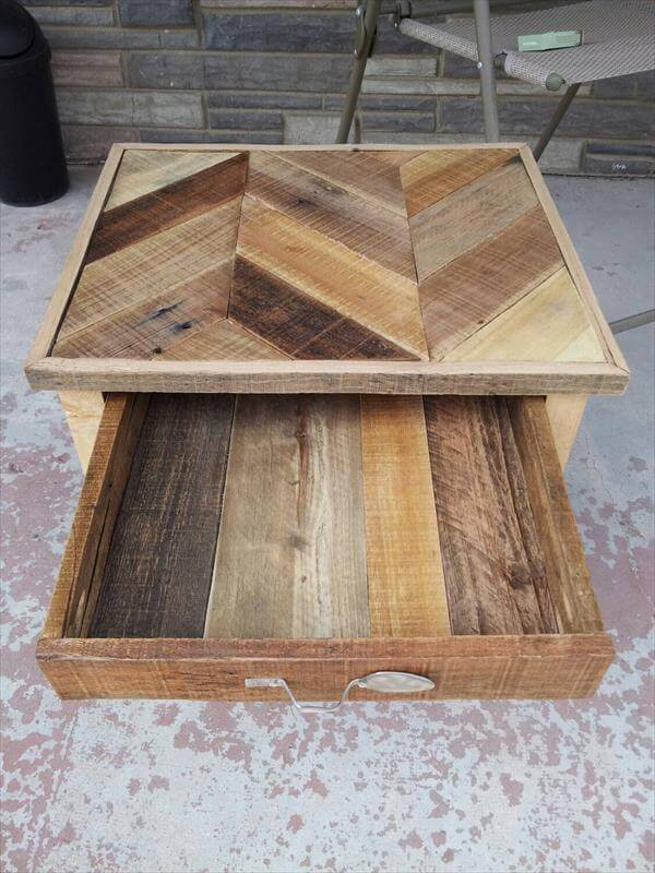 ... end table diy pallet nightstand and side table diy pallet wood side