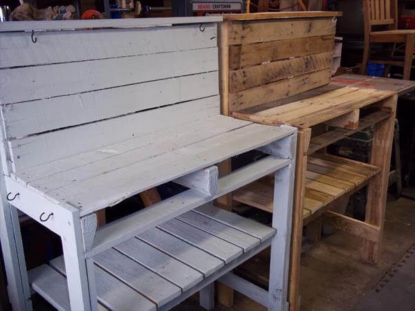 ... wood garden bench planter diy wood pallet potting bench diy pallet and