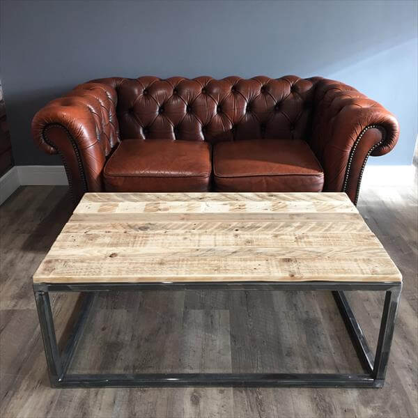 Industrial Design Pallet Coffee Table