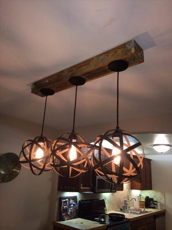 Rustic mason jar light fixtures memes for Diy rustic pendant light