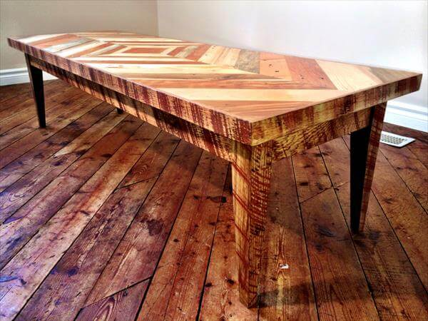 ... coffee table diy pallet chevron sofa side table diy wood pallet coffee