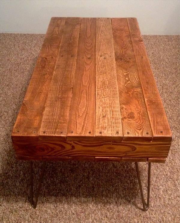 Coffee table rustic coffee table with pallet wood diy pallet coffee