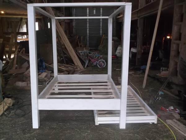 related posts diy platform pallet bed plan with storage diy custom ...