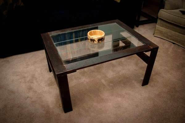 Charmant Repurposed Pallet Coffee Table
