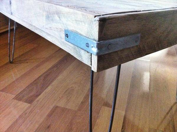 Wood Diy Pallet And Crate Wood Coffee Table Diy Reclaimed Dual Toned