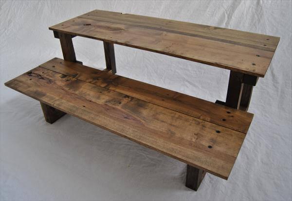 desk diy pallet wood corner computer desk pallet wood computer desk