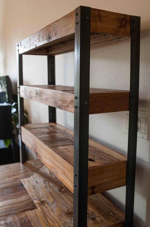 Multi Tiered Pallet Desk 101 Pallets