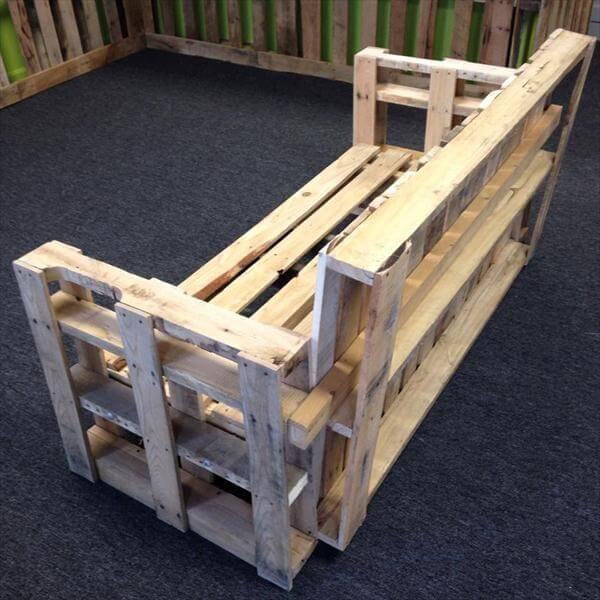DIY Sturdy Handmade Pallet Bench Sofa 101 Pallets
