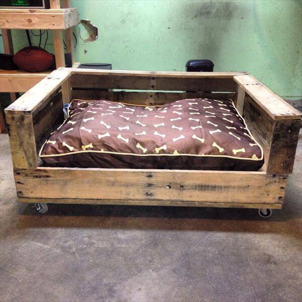 building a wooden dog bed 2