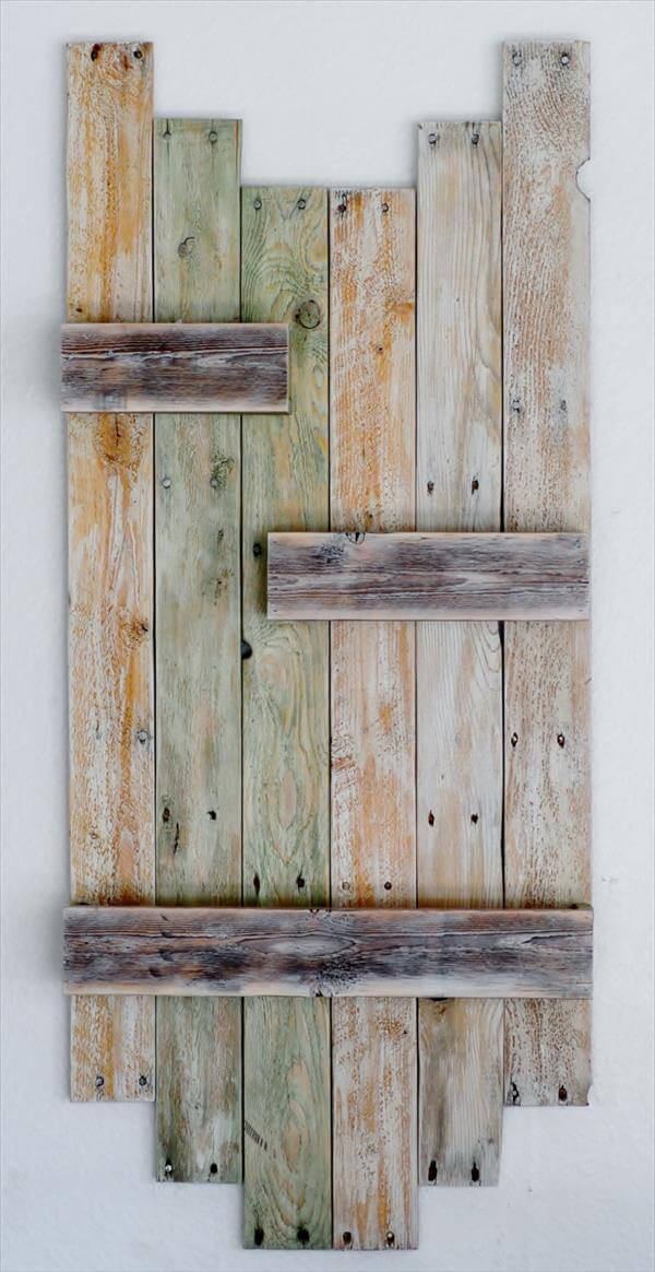 Diy Reclaimed Pallet Hanging Planter 101 Pallets