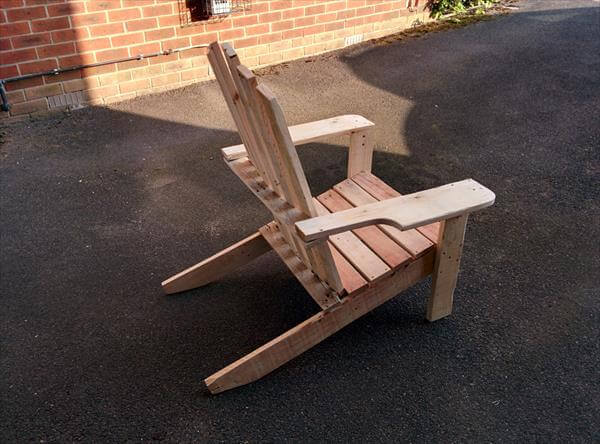 DIY Pallet Adirondack Chair – Pallet Adirondack Chairs