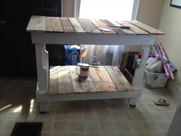 Kitchen Island Made With Pallets modren kitchen island made with pallets table e to decorating