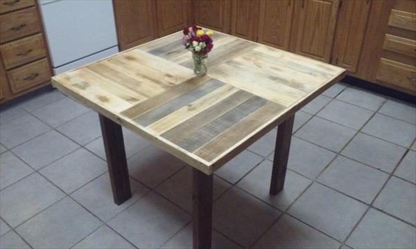 Upcycled Pallet Coffee Table And Dining