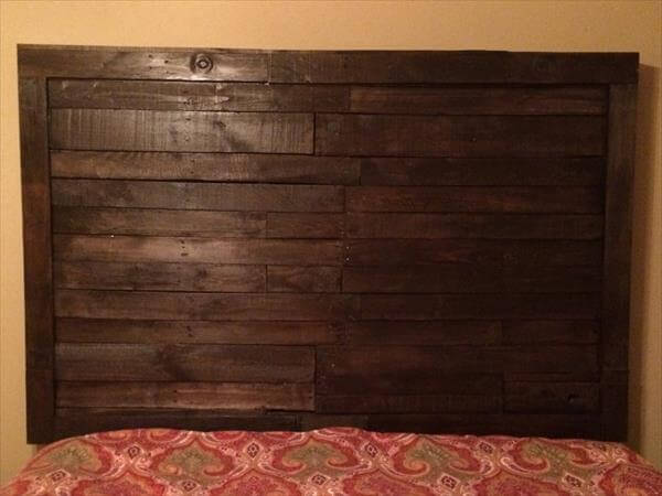 30 Cool Ideas For Homemade Wooden Pallets Furniture in addition Wooden Pallet Diy Project Ideas Beginners further Reclaimed Pallet King Size Headboard as well Colorful Pallet Ideas For Kids moreover Multi Tiered Pallet Desk. on wooden pallet table ideas