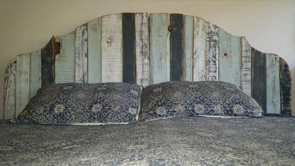 Diy Pallet Bed King Head Boards