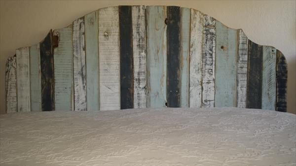 diy pallet king size headboard design   pallets, Headboard designs