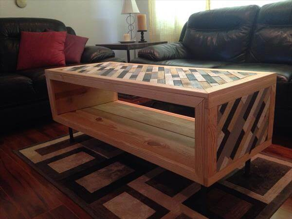 10 Unique Ideas For Pallet Coffee Table 101 Pallets