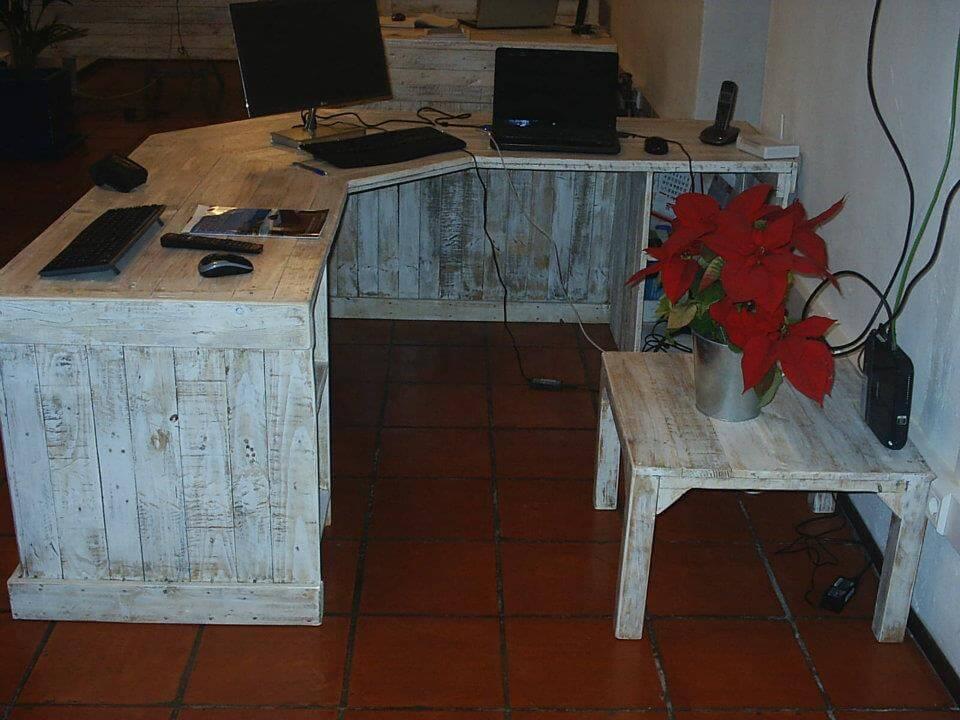 pallet working desk