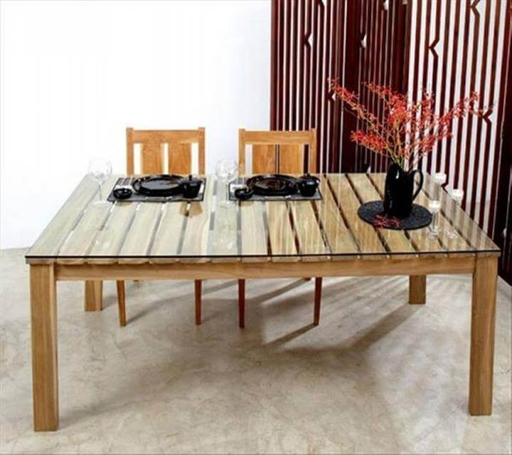 Pallet Dining Tables 101 Pallets