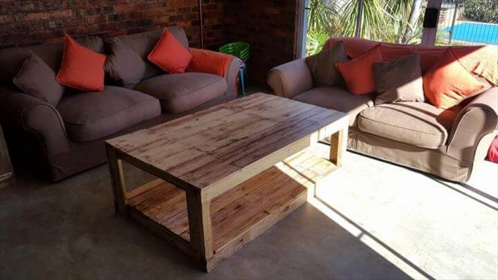 pallet furniture coffee table. handmade wooden pallet coffee table furniture