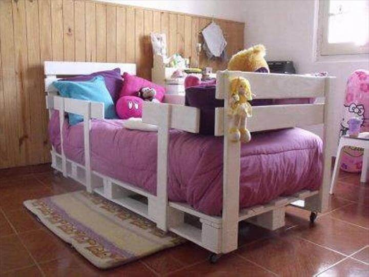diy pallet bed for kids