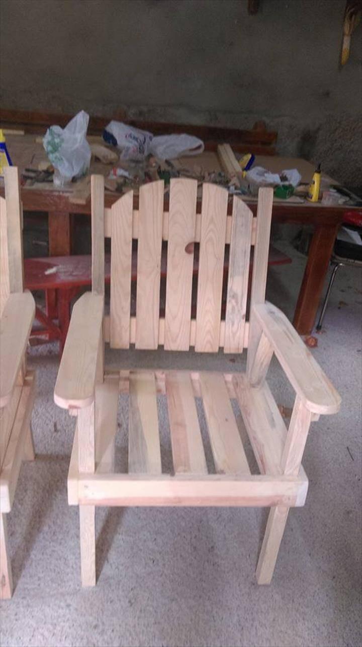 Pallet outdoor furniture 101 pallets for Furniture 101