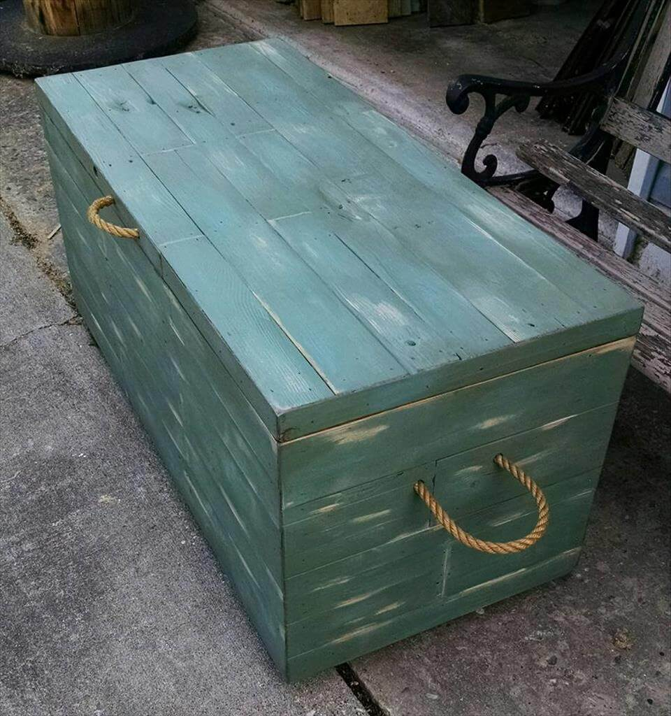 pallet chest for storage
