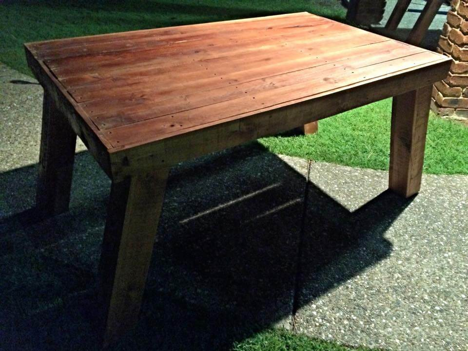 Table DIY Coffee Table From Pallets DIY Vintage Pallet Chevron Coffee