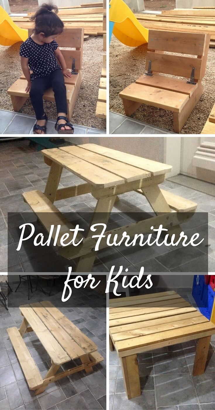 kids furniture made from pallets 101 pallets