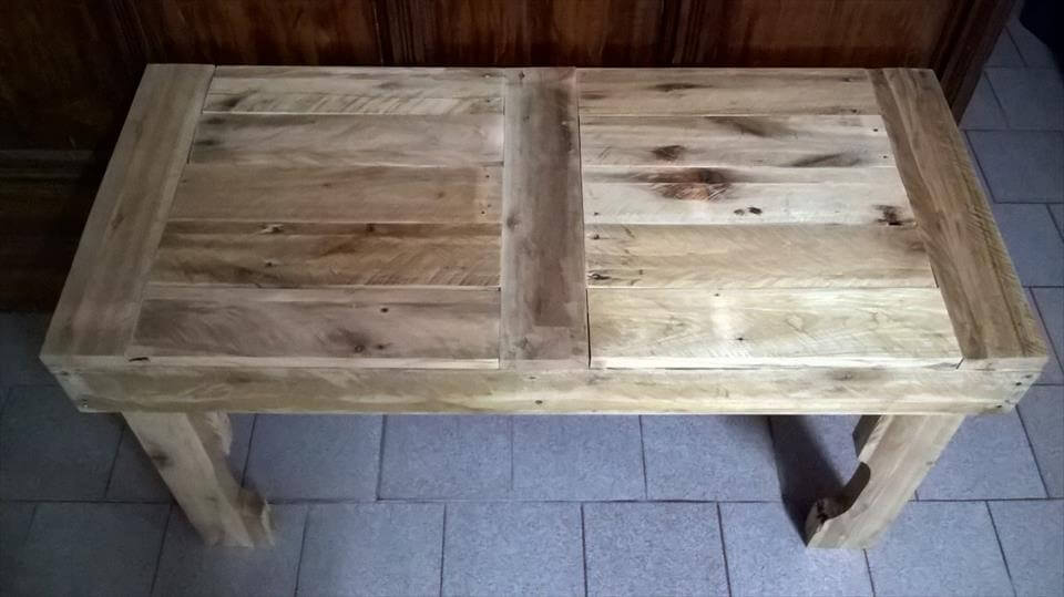 Diy Pallet Rustic Coffee Table 101 Pallets