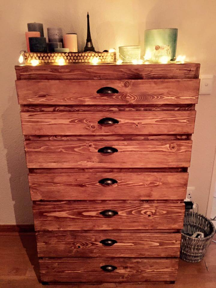 Pallet Chest Of Drawers 101 Pallets