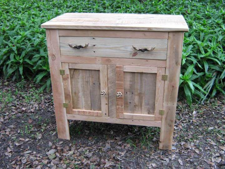 Pallet Cabinet Ideas 101 Pallets