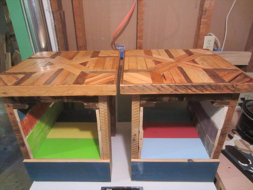 pallet mini tables