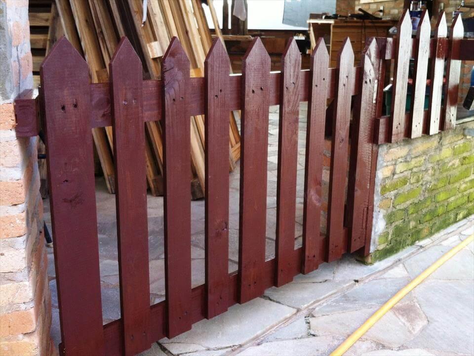 Wooden Pallet Gate Door 101 Pallets