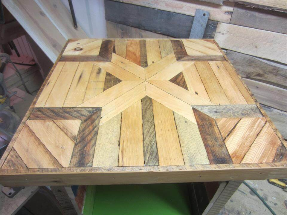 Mini Pallet Wood Side Table 101 Pallets