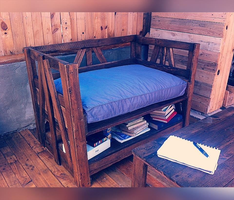 diy pallet table and chair