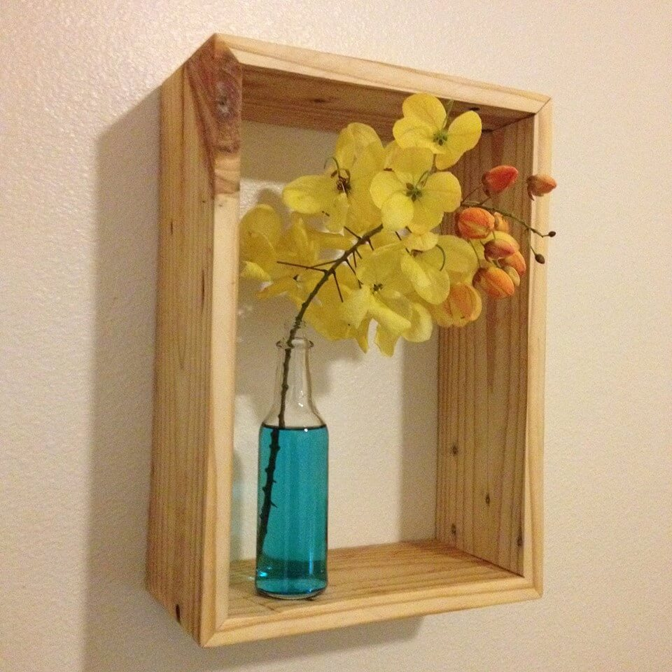 Pallet Shelves Ideas: Pallets Wood Decorative Shelf Ideas