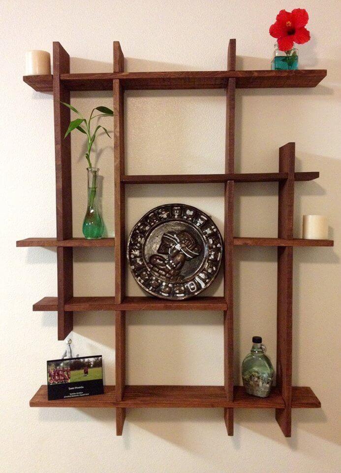 Pallets Wood Decorative Shelf Ideas | 101 Pallets on Pallet Design Ideas  id=25686