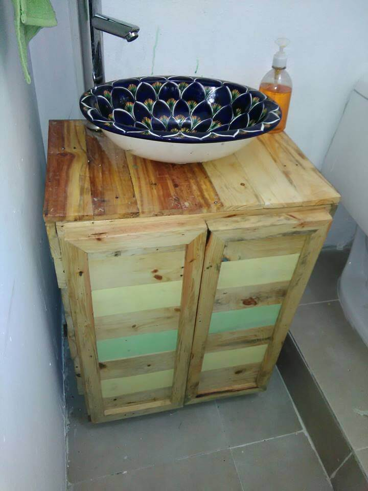 diy pallet vanity furniture