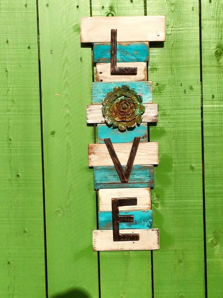 10 DIY Wooden Pallet Wall Art Ideas | 101 Pallets