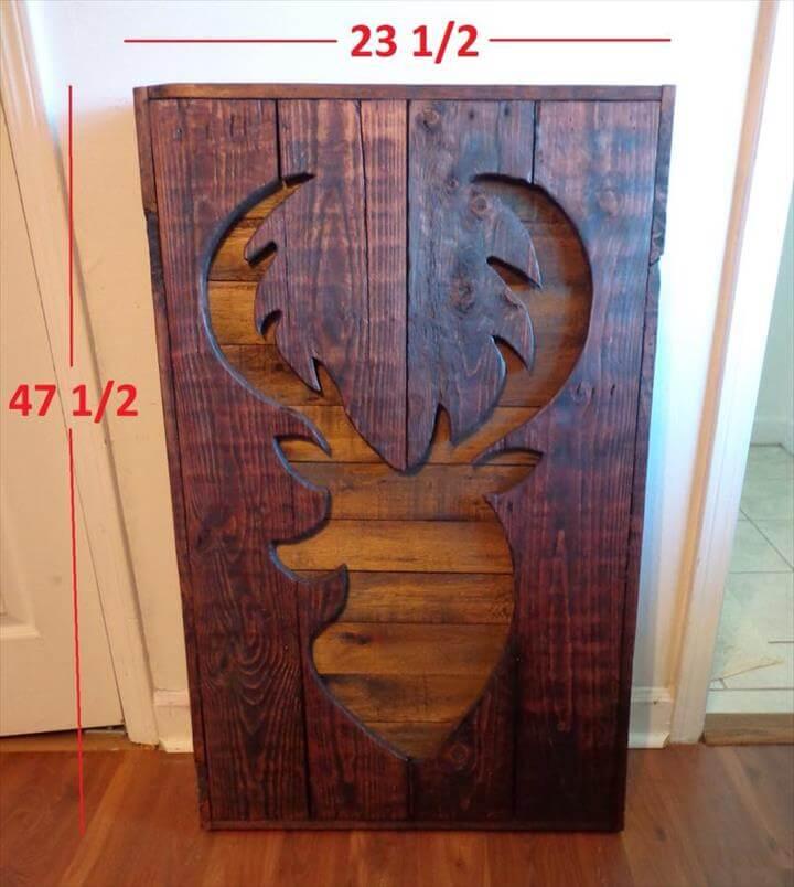 10 DIY Wooden Pallet Wall Art Ideas