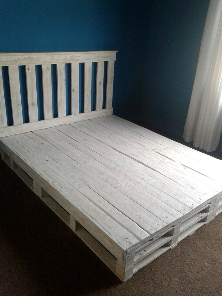 regained pallet bed