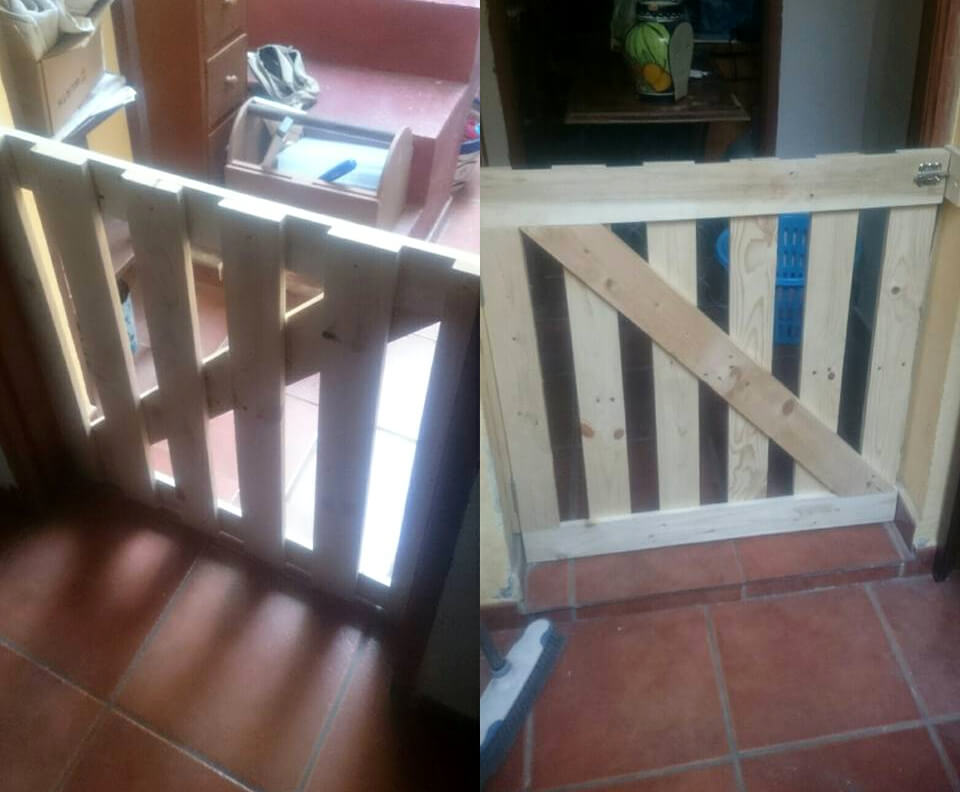 Pallet Baby Gate For Your Baby Safety 101 Pallets