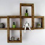 DIY Square Pallet Shelf Unit