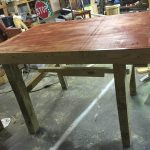 DIY Laminated Pallet Table