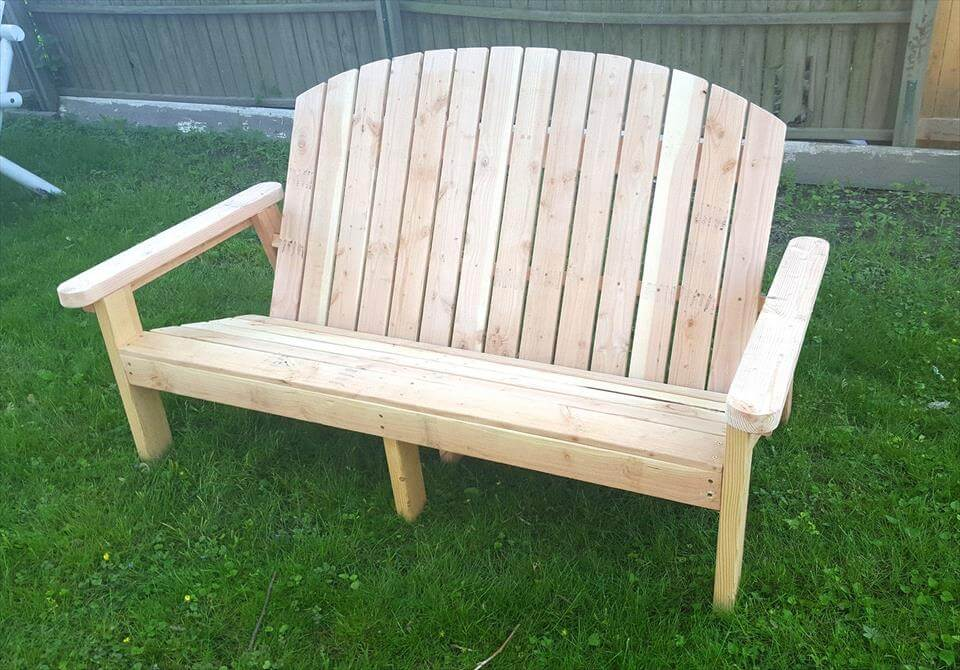... build a set of Adirondack chairs and benches for outdoor garden
