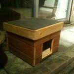 Upcycled Pallet Cat House